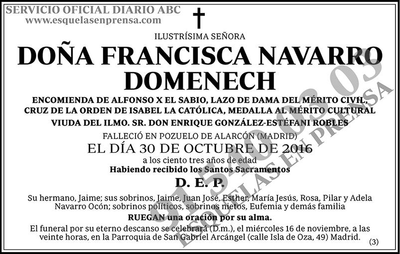 Francisca Navarro Domenech